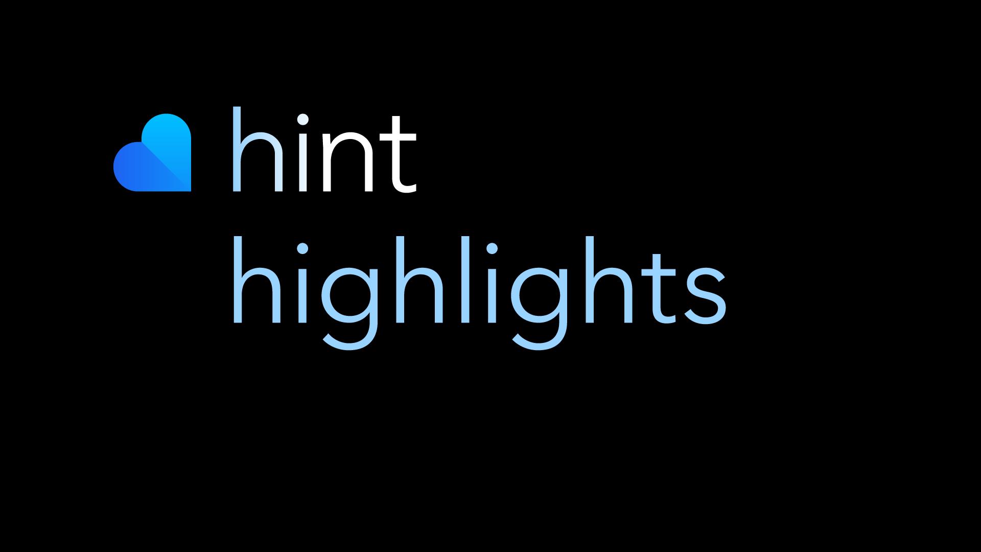 HintHighlights