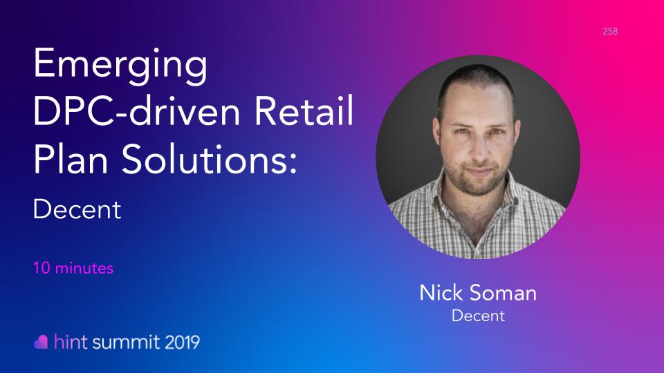 See Nick Soman at Hint Summit 2019