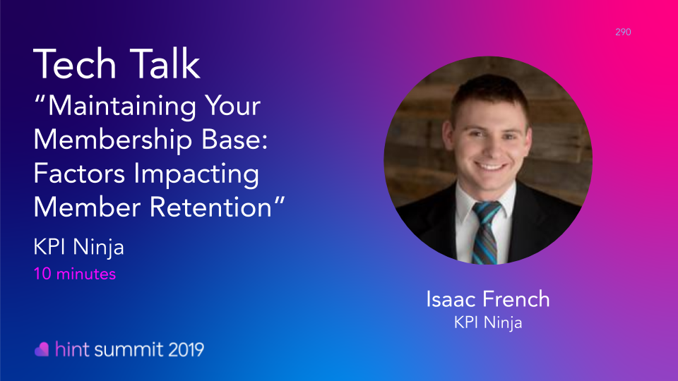 See Isaac French at Hint Summit 2019