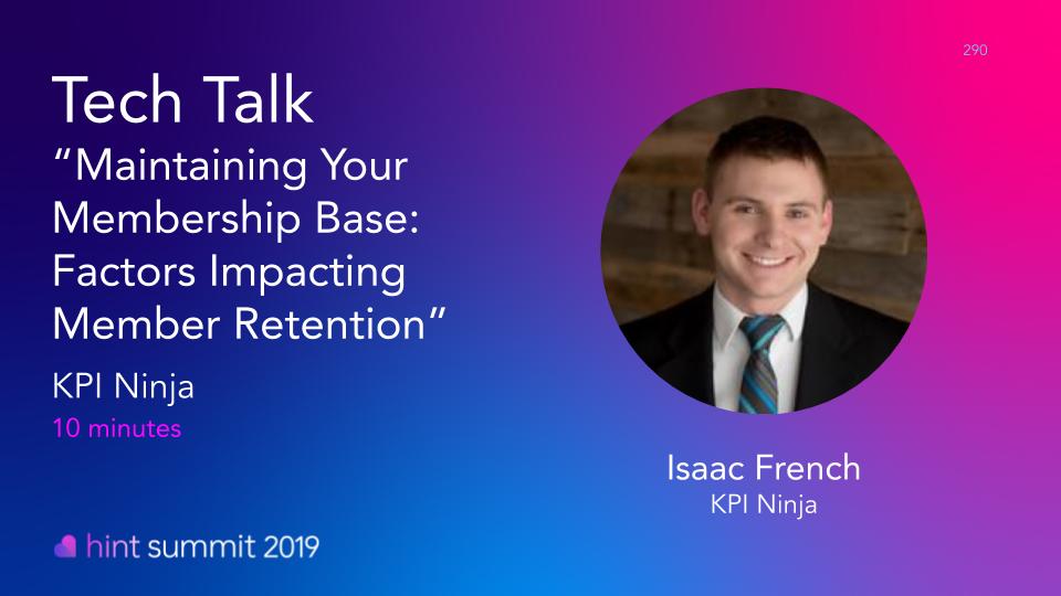 See Isaac French at Hint Summit 2019