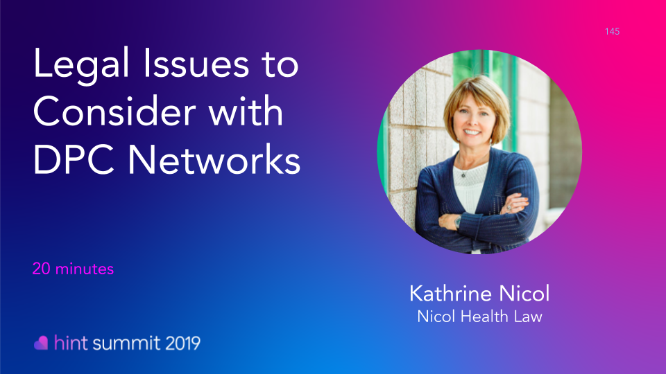 See Kathrine Nicol at Hint Summit 2019