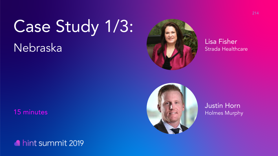 See Lisa Fisher at Hint Summit 2019