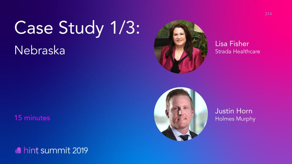 See Lisa Fisher at Hint Summit 2019