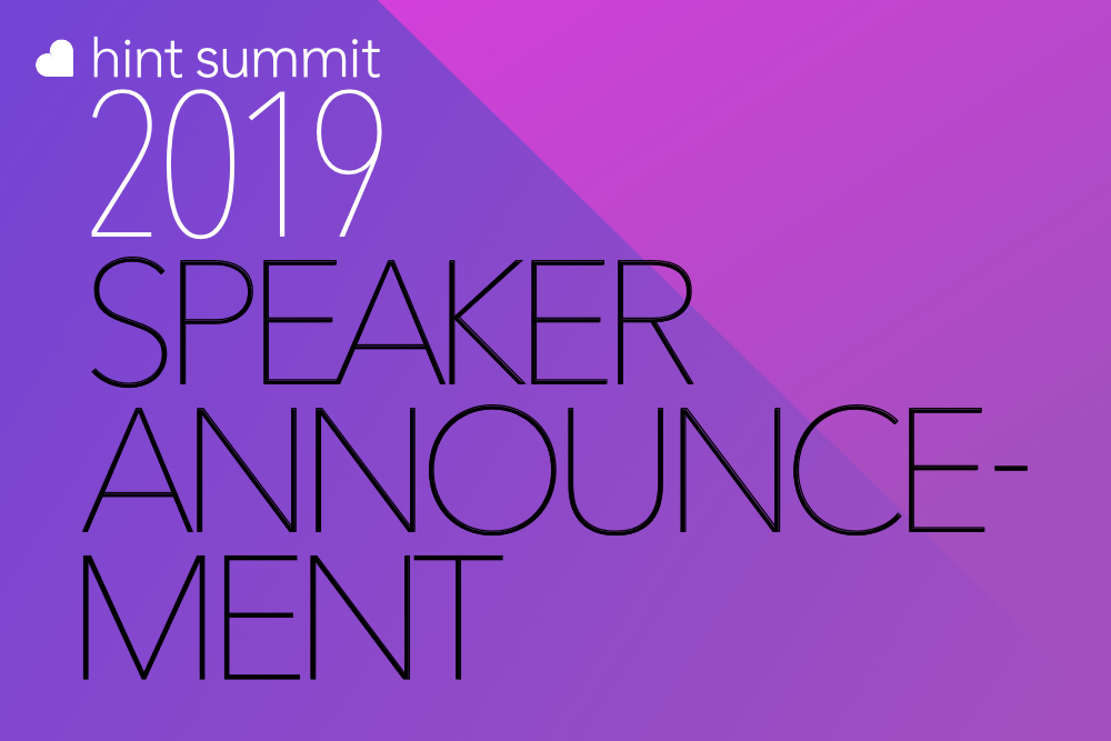 See Dr. Lisa Davidson at Hint Summit 2019