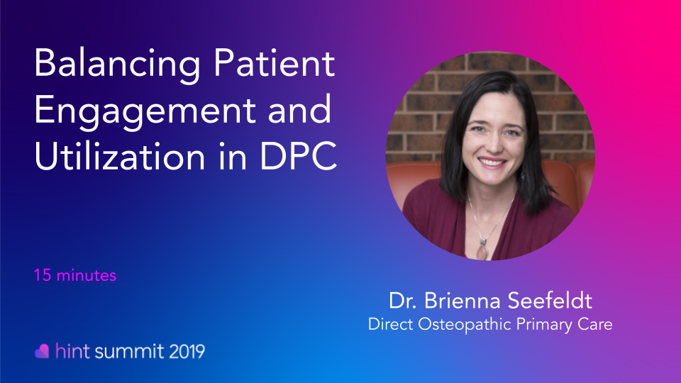 See Dr. Brieanna Seefeldt at Hint Summit 2019